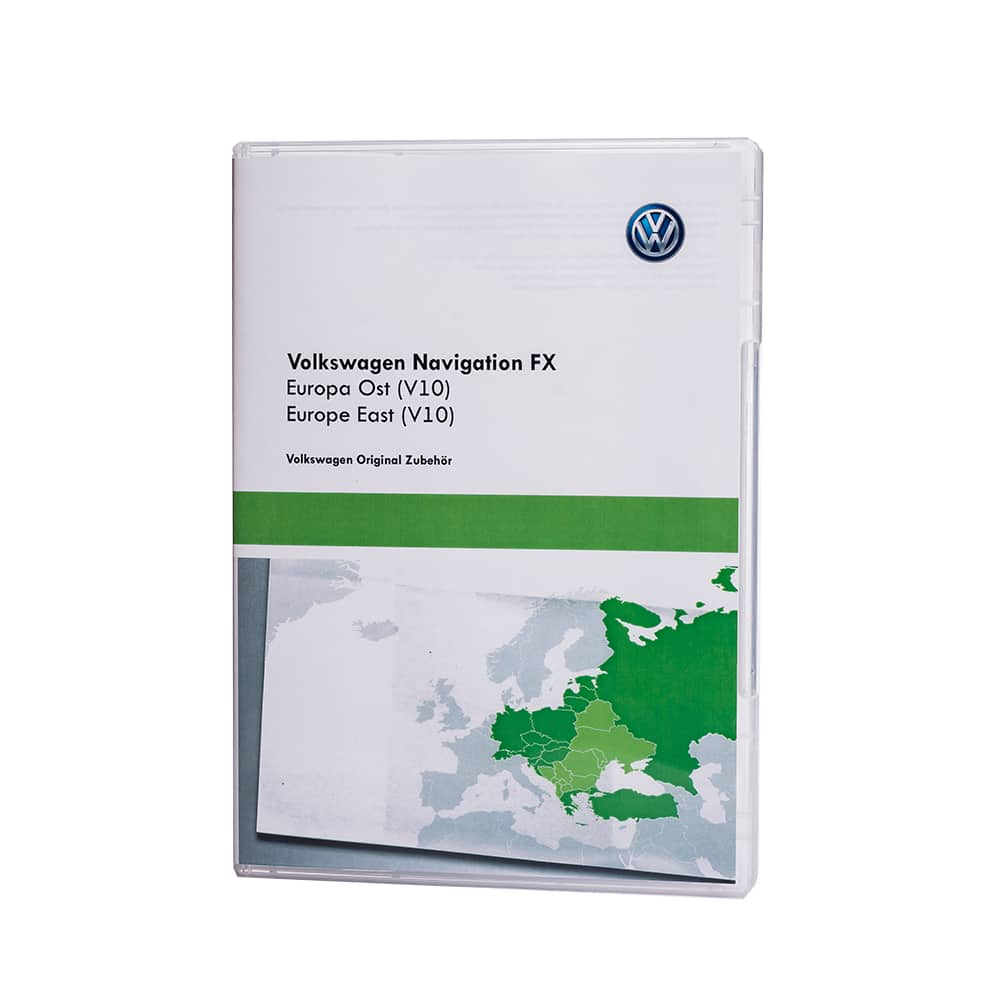 Volkswagen RNS 310 V10 East navigation update | Navigation Maps Updates